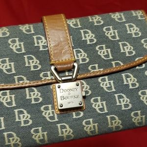 Dooney & Bourke monogram print wallet